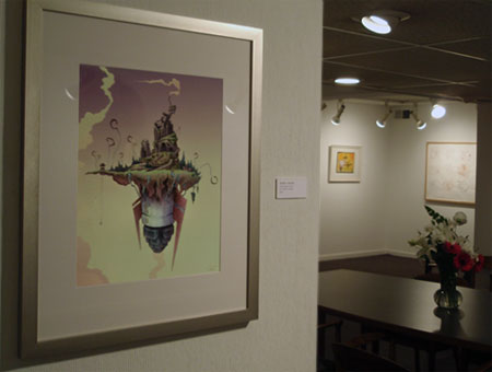 Rocket Island: Voorst at the Bonfoey Gallery